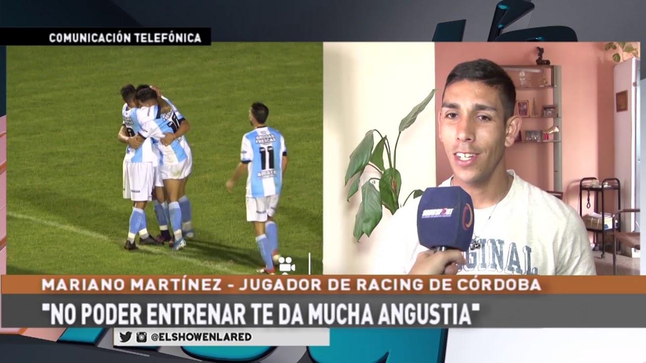 Racing   Mariano Martinez y la reunión con la Agencia Córdoba Deportes