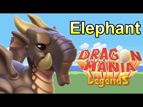 How To Breed The ELEPHANT DRAGON! Dragon Mania Legends (DOTW Breeding Guide July 17-24th)