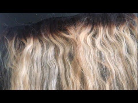 How To Bleach Your Hair Platinum Blonde!