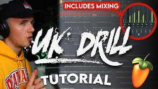 THE ULTIMATE UK DRILL TUTORIAL FOR 2021 (Full Process - FL Studio 20)