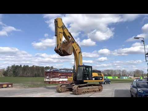 Gebruikte bouwmachine Caterpillar 336DL Rupsgraafmachine