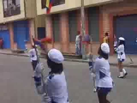 Escuela de música marcial itpc (banda de paz) 20 de julio 3013 tumaco nariño
