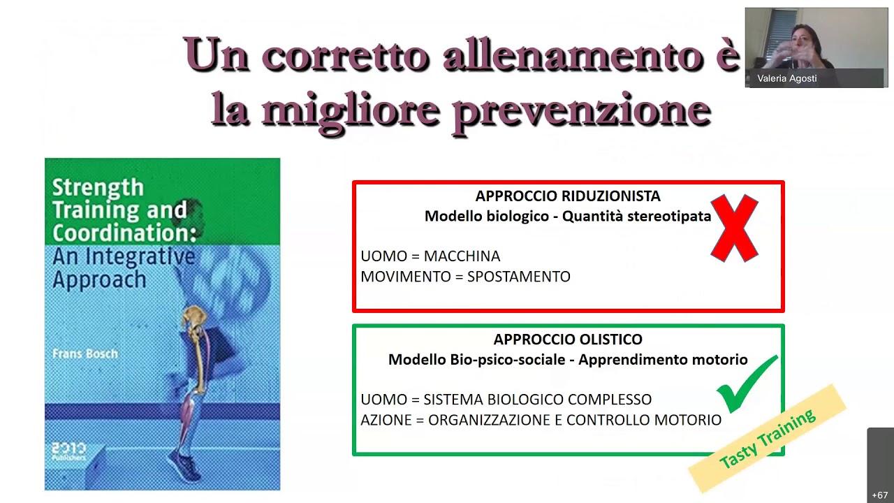 Webinar: Dal modello prestazionale alla prevenzione dell'infortunio