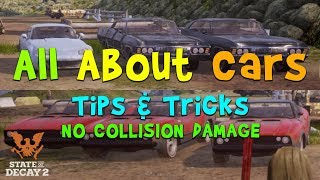 10 Tips About Vehicles || Willie Pete Grenade || State of Decay 2