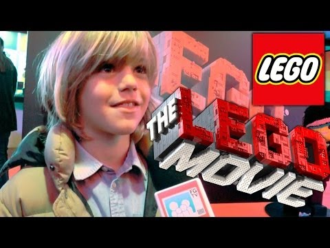 The Lego Movie Premiere -- Harry Hickles Talks Lego and Eastenders Tips
