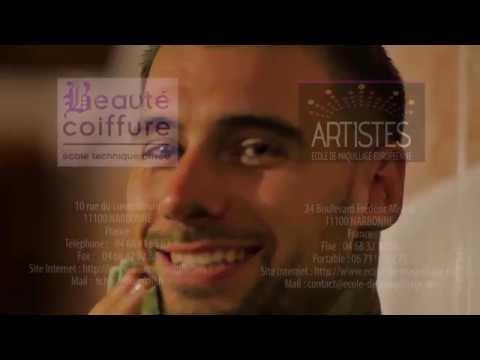 Transcendance Défilé Artistique Body painting-Coiffure
