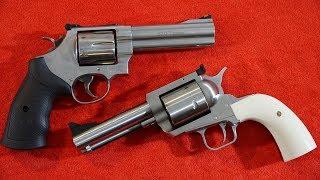 S&W Model 629 Classic vs Magnum Research BFR