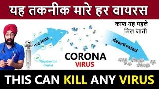 Good News | Air Ionizer Purifier & Supermask may kill 99.7% of any Virus | Bacteria | Dr.Education
