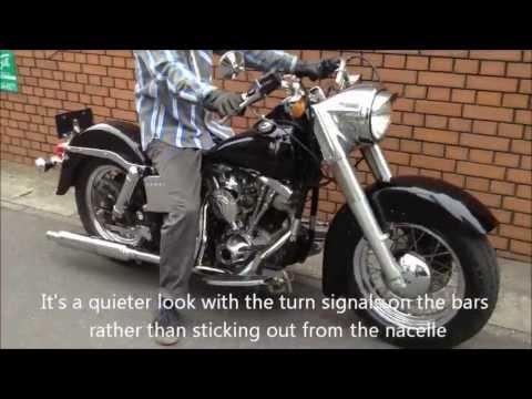 1980 FLH 1200 CERTIFIDE POLICE SPECIAL STRIPPED DRESSER EVIL COP BIKE BY KMF-MOTORCYCLES THANKS !
