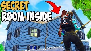 SECRET LOCATION FOUND IN SALTY SPRINGS! Fortnite Bataille Royale