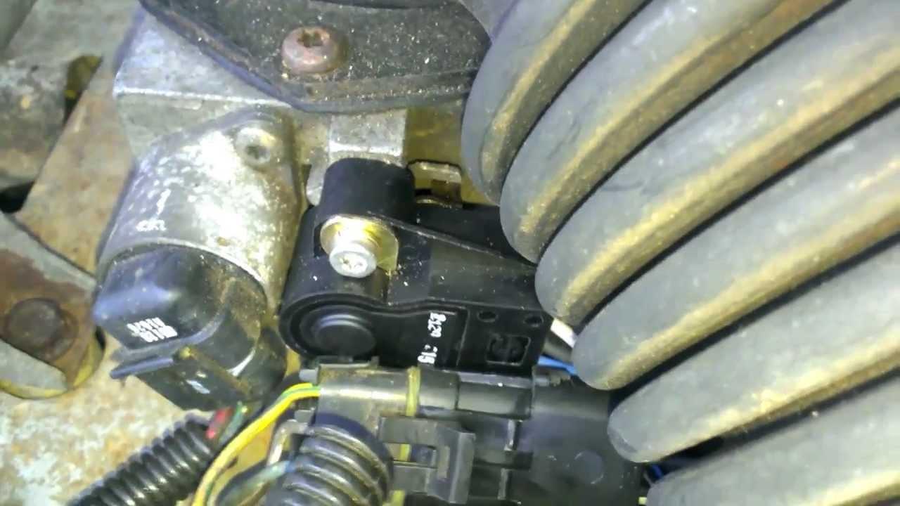 1999 Jeep Cherokee Crankshaft Sensor Wiring Diagram 89 Cherokee Throttle Position Sensor Replacment Youtube