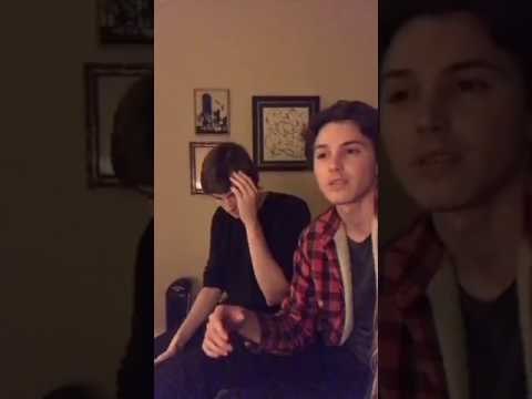 Tyler & James from Eyewitness, Talk About & Sing #Philkas's Song