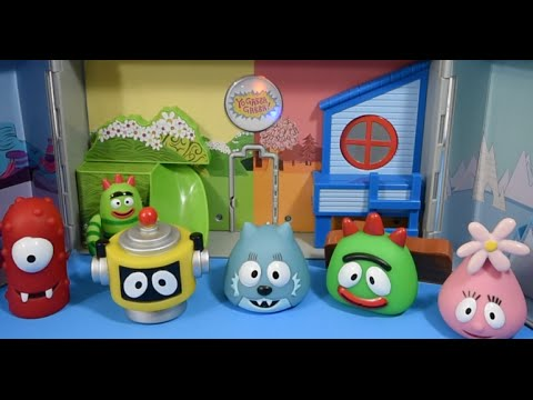 yo gabba gabba boom box play set unboxing with yo gabba gabba toys