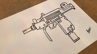 Silahlı Asker çizimi