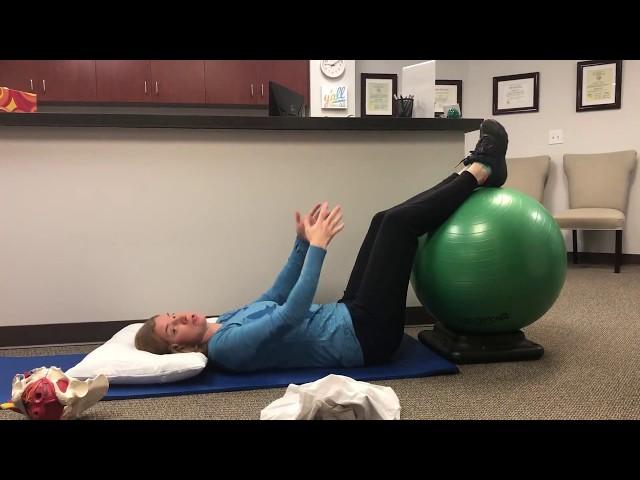 Postpartum gentle exercises