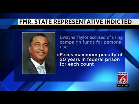 Former state rep. indicted on wire fraud charge