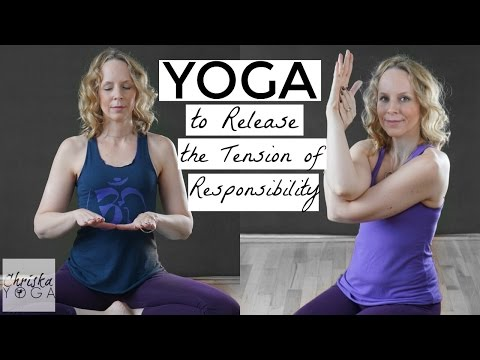 Yoga to Release The Tension of Responsibility - With Dr. Melissa West - 30 Min At Home Yoga