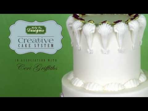 Creative Cake System Moulds Tutorial with Ceri Griffiths