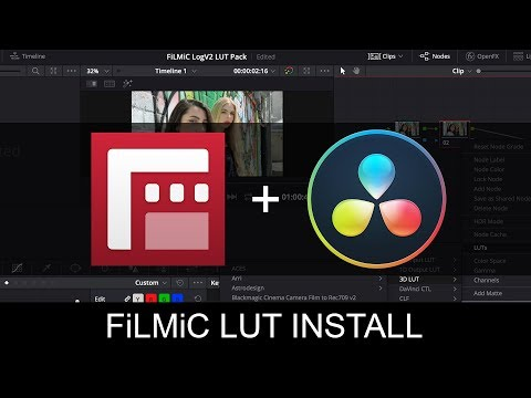 Official FiLMiC Pro LUT Pack - Free Download   Filmic Pro