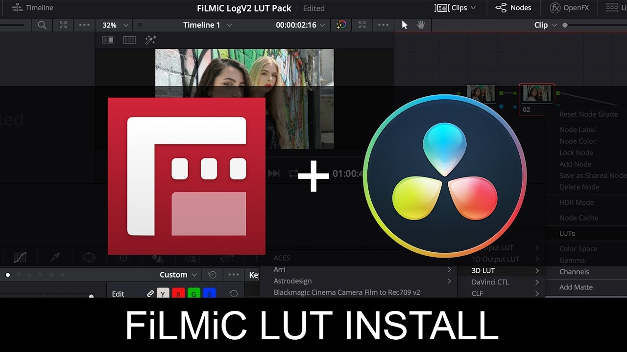 Official FiLMiC Pro LUT Pack - Free Download | Filmic Pro Mobile Video