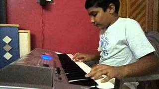 Tu Rangai Jane Rang Ma on Piano by Rajan Kukadia