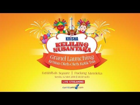 Live Streaming Krisna Keliling Nusantara - Grand Launching Krisna Jakarta