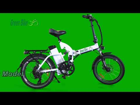 Greenbike USA GB5/GB500 Electric Motor Power Bicycle Lithium Battery Folding Bike - FULL SUSPENSION