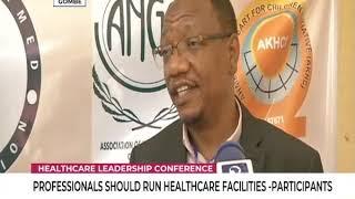 Professionals should run health facilities
