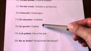 Tyrkisk lektion 3
