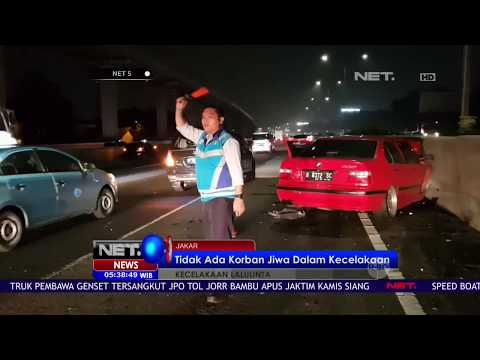 Kebut Kebutan, Satu Unit Mobil Tabrak Mobil Box - NET 5