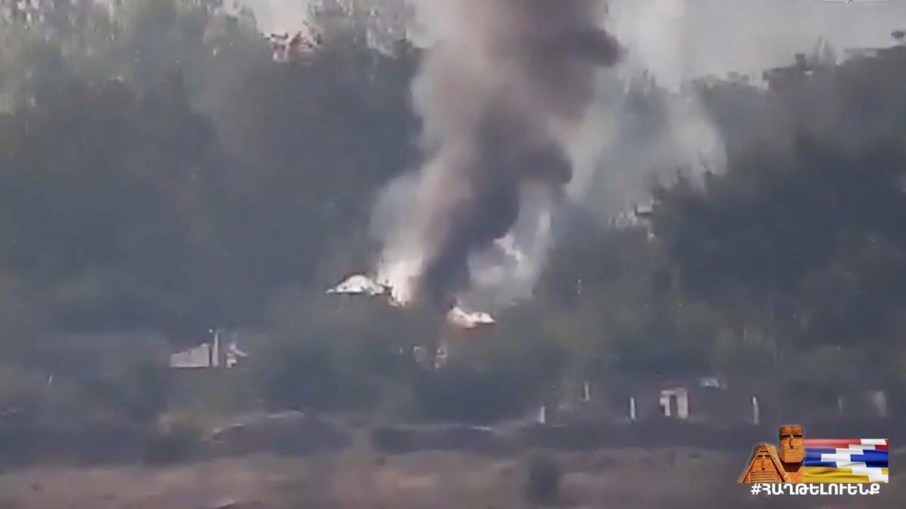 Տեսանյութ.Փախուստ.Ինչպես են հայկական ուժերը ոչնչացնում հակառակորդի տեխնիկան ու հենակետերը