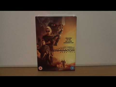 Terminator Dark Fate Uk Dvd Unboxing Samdjanreviews Let S
