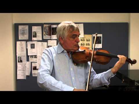 The Violin Channel | Professor Ole Bohn | Teaching Masterclass | Part 4 of 4 | Vibrato Combinations