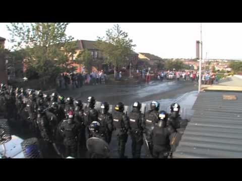 Northern Ireland Riots 2011