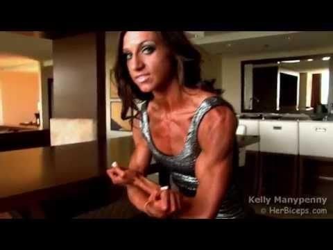 Kelly Teen Female Bodybuilder