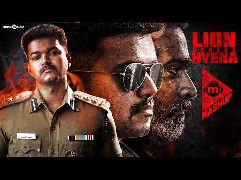 Think Mashup - Lion Vs Hyena Feat. Thalapathy Vijay & Vijay Sethupathi | Hiphop Tamizha #TheriVedha