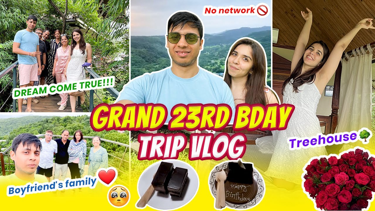 *FINALLY* 23rd BIRTHDAY VLOG Pt 2 ft. My Boyfriend and Our Family!!! My DREAM came true 🥺  Heli Ved
