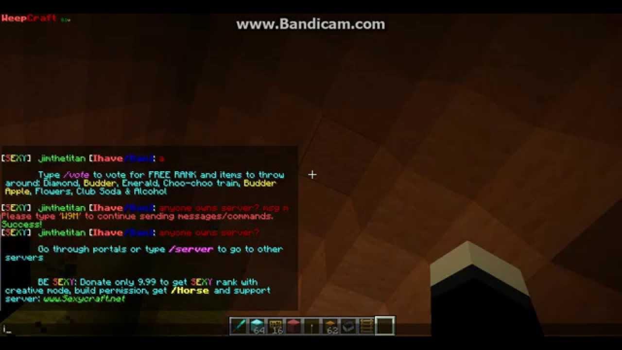 Minecraft sexycraft vote