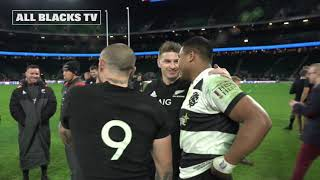 All Blacks v Barbarians: The players talk