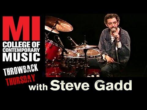 Steve Gadd Throwback Thursday From the MI Vault
