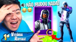 DID FORTNITE TROLLOU WITH THIS REACTIVE SKIN? * Does not change anything!! KKKK * | FORTNITE