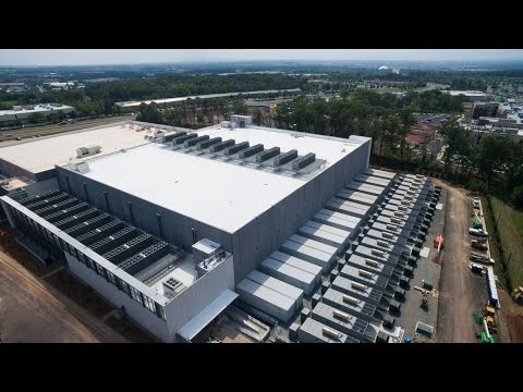CyrusOne Data Center: a Hyper-Scaled Project Built in Part by the Powering America Team