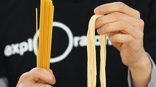 Pasta: Lower Your Carbon Footprint | Hungry for Science