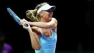 Maria Sharapova vs Simona Halep | 2015 WTA Finals Highlights