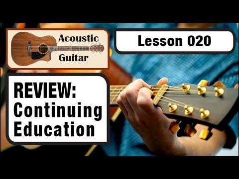 ▶ ACOUSTIC GUITAR 020: Review - Continuing Acoustic Education