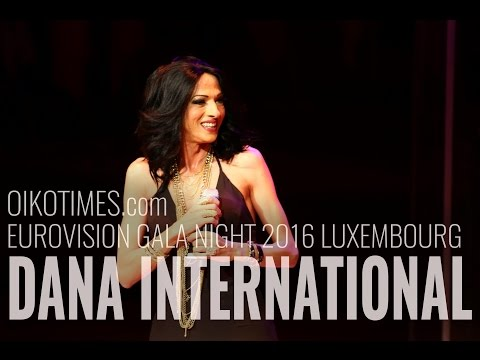 oikotimes.com: Dana International at Eurovision Gala Night 2016 in Luxembourg