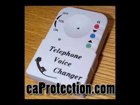 Mobile Voice Changer Sample Recordings