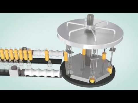 Servo System Cam Control Rotary Filling Machine