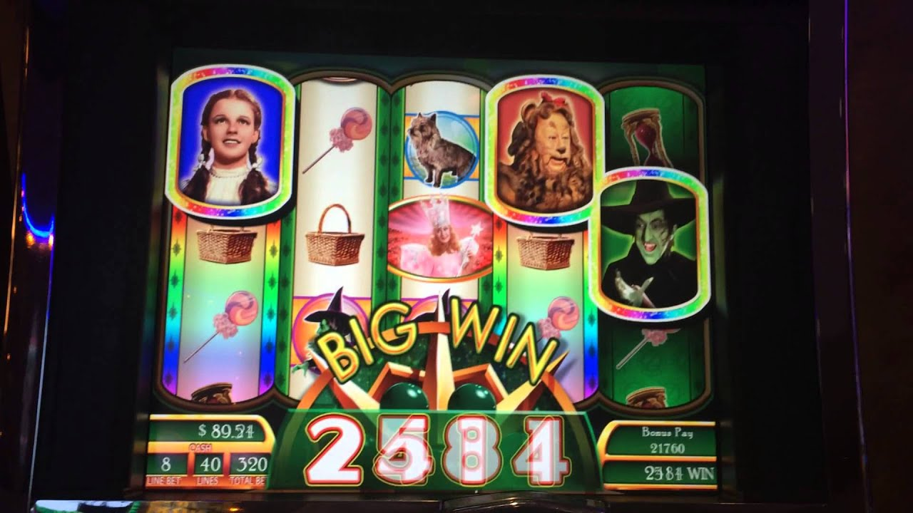 Wizard of Oz Ruby Slippers Slot Machine Bonus - Find the ...