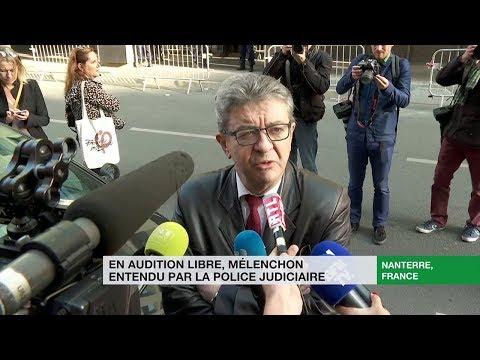 «On est dans une opération de police politique», s'insurge JeanLuc Mélenchon